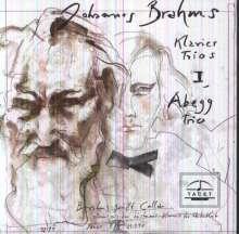 Johannes Brahms (1833-1897): Klaviertrios Vol.1, CD