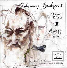 Johannes Brahms (1833-1897): Klaviertrios Vol.2, CD