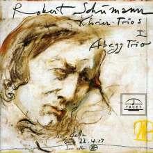 Robert Schumann (1810-1856): Klaviertrio Nr.1 op.63, CD