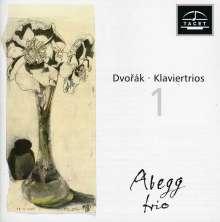 Antonin Dvorak (1841-1904): Klaviertrios Nr.1 & 4 (op.21 & 90), CD