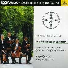 Felix Mendelssohn Bartholdy (1809-1847): Oktett op.20, DVD-Audio