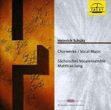 Heinrich Schütz (1585-1672): Geistl.Chormusik 1648 SWV 372,373,378-380,388,389,391, CD