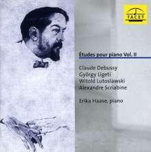 Erika Haase - Etudes pour piano Vol.2, CD
