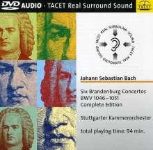 Johann Sebastian Bach (1685-1750): Brandenburgische Konzerte Nr.1-6, DVD-Audio