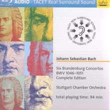 Johann Sebastian Bach (1685-1750): Brandenburgische Konzerte Nr.1-6, 1 Blu-ray Audio und 1 CD