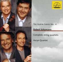 Robert Schumann (1810-1856): Streichquartette Nr.1-3, CD