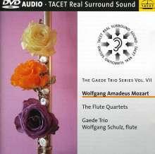 Wolfgang Amadeus Mozart (1756-1791): Flötenquartette Nr.1-4, DVD-Audio