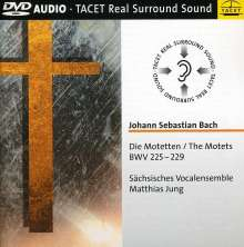 Johann Sebastian Bach (1685-1750): Motetten BWV 225-229, DVD-Audio