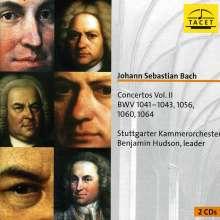 Johann Sebastian Bach (1685-1750): Violinkonzerte BWV 1041-1043,1056,1064, 2 CDs