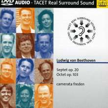 Ludwig van Beethoven (1770-1827): Bläseroktett op.103, DVD-Audio