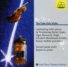 Daniel Gaede - Tube Only Violin, CD