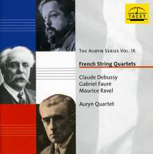 Auryn Quartett - French String Quartets, CD