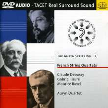 Auryn Quartett - French String Quartets, DVD-Audio