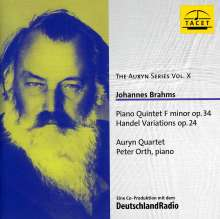 Johannes Brahms (1833-1897): Klavierquintett op.34, CD