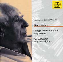 Günter Bialas (1907-1995): Streichquartette Nr.3,4,5, CD