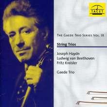 Gaede Trio - Streichtrios, CD