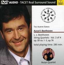 Ludwig van Beethoven (1770-1827): Streichquartette Nr.7-11, DVD-Audio