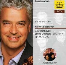 Ludwig van Beethoven (1770-1827): Sämtliche Streichquartette Vol.3, 2 CDs
