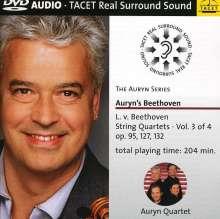 Ludwig van Beethoven (1770-1827): Sämtliche Streichquartette Vol.3, DVD-Audio