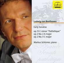Ludwig van Beethoven (1770-1827): Klaviersonaten Nr.2,3,8, CD