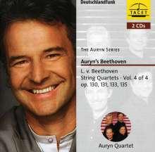 Ludwig van Beethoven (1770-1827): Sämtliche Streichquartette Vol.4, 2 CDs
