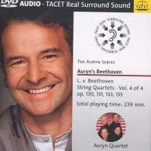 Ludwig van Beethoven (1770-1827): Sämtliche Streichquartette Vol.4, 2 DVD-Audios