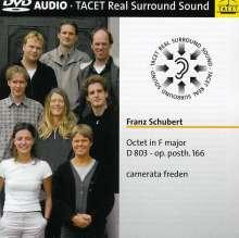 Franz Schubert (1797-1828): Oktett D.803, DVD-Audio
