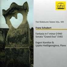 Franz Schubert (1797-1828): Grand Duo für Klavier zu vier Händen D.812, CD