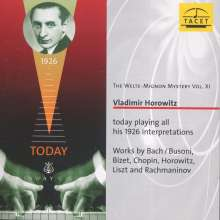 Welte-Mignon Mystery Vol.11 - Vladimir Horowitz, CD