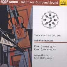 Robert Schumann (1810-1856): Klavierquartett op.47, DVD-Audio