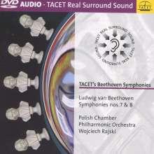 Ludwig van Beethoven (1770-1827): Symphonien Nr.7 & 8, DVD-Audio