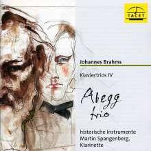 Johannes Brahms (1833-1897): Klaviertrios Vol.4, CD