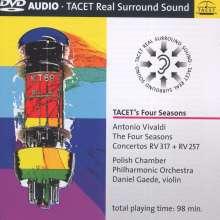 "Antonio Vivaldi (1678-1741): Concerti op.8 Nr.1-4 ""4 Jahreszeiten"", DVD-Audio"