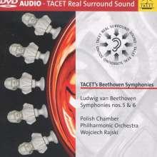 Ludwig van Beethoven (1770-1827): Symphonien Nr.5 & 6, DVD-Audio