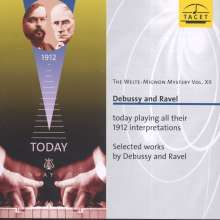 Welte-Mignon Mystery Vol.12 - Debussy & Ravel, CD