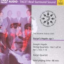 Joseph Haydn (1732-1809): Streichquartette Nr.1-4,6 (op.1 Nr.1-4,6), 2 DVD-Audio
