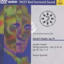 Joseph Haydn (1732-1809): Streichquartette Nr.72-74, DVD-Audio