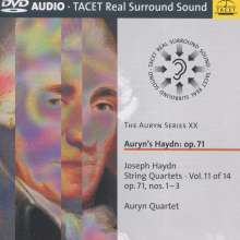 Joseph Haydn (1732-1809): Streichquartette Nr.69-71 (op.71 Nr.1-3), DVD-Audio
