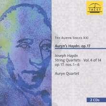 Joseph Haydn (1732-1809): Streichquartette Nr.25-30 (op.17 Nr.1-6), 2 CDs