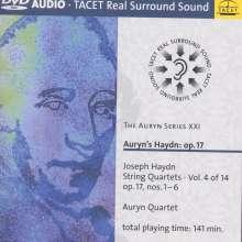 Joseph Haydn (1732-1809): Streichquartette Nr.25-30 (op.17 Nr.1-6), 2 DVD-Audio