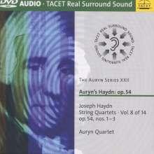 Joseph Haydn (1732-1809): Streichquartette Nr.57-59 (op.54 Nr.1-3), DVD-Audio