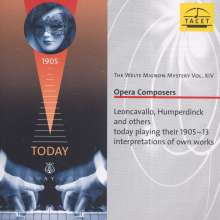 Welte-Mignon Mystery Vol.14 - Opera Composers, CD