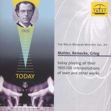 Welte-Mignon Mystery Vol.15 - Mahler, Reinecke, Grieg, CD