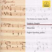 Frederic Chopin (1810-1849): Mazurken Nr.1,5,8,11,13-15,17-19,21,22, CD