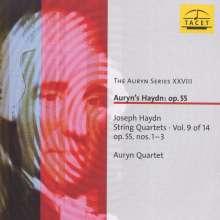 Joseph Haydn (1732-1809): Streichquartette Nr.60-62, CD