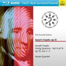 Joseph Haydn (1732-1809): Streichquartette Nr.60-62, Blu-ray Audio