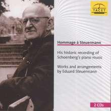 Hommage a Eduard Steuermann, 2 CDs