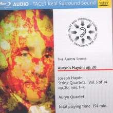 "Joseph Haydn (1732-1809): Streichquartette Nr.31-36 (op.20 Nr.1-6) ""Sonnenquartette"", Blu-ray Audio"
