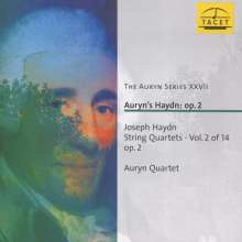 Joseph Haydn (1732-1809): Streichquartette Nr.7,8,10,12 (op.2 Nr.1,2,4,6), CD