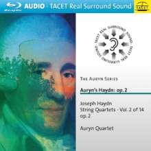 Joseph Haydn (1732-1809): Streichquartette Nr.7,8,10,12 (op.2 Nr.1,2,4,6), Blu-ray Audio